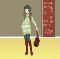 September Fall Girl fashion by Brandee-Ssj-Doll