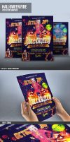 PSD Halloween Flyer Template by ImperialFlyers