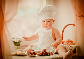 Cute Little Chef by Kropotova