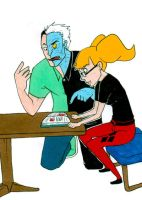Tutoring With Two-Face by Insideunder