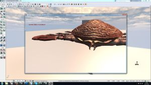 Crab Monster Static UDK by unknownguyver81