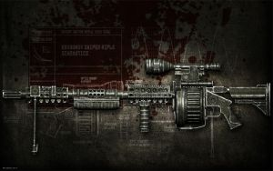 Dragunov SVD-9600 Sniper Rifle by BadKingOnline