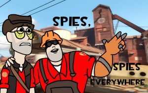 SPIES by CommonDusty
