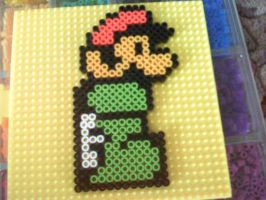 Mario In Boot Bead Sprite by WickedAwesomeMario81