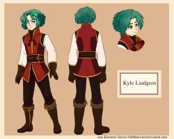 Referencia- Kyle Lindgren by SoftBluewind