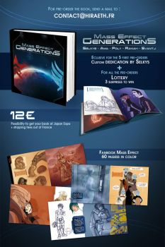 Fanbook Mass Effect Generations by Amaltheren