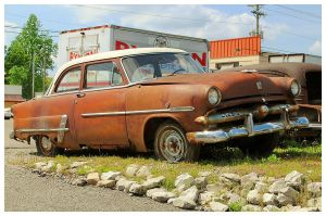 Rusty Old Ford by TheMan268