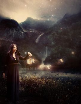 Sending Lights to the World by Kallaria