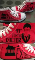 Doctor Who shoes by Ligechan