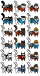 TF2 CAT STICKERS SERIES 1 by Bobfleadip