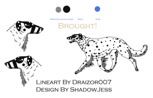 Borzoi point adopt 1 SOLD by shadowjess