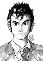 The 10th Doctor by satoihiroshi