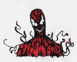Carnage Sketch by Spookyspoots