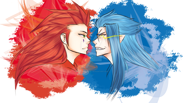 Axel n Saix - Oh really?! by KleinesWuschel