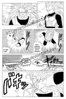 Dragon Ball Z new manga test page by orco05