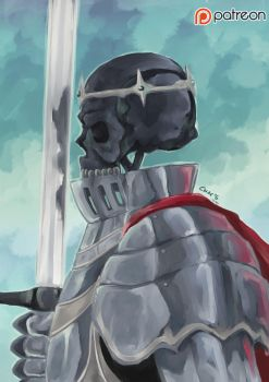 Skull Prince by AtelierEdge