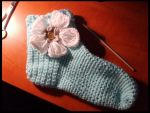 crochet flower sock by Lildi