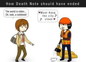How Death Note should've ended by Yuuza