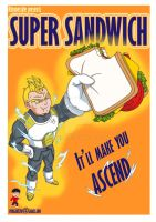 rhymestyle and his super sandwich by sjonne305