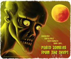 Rabid Zombies From The Deep by juanbauty