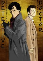 B-Day gift: Sherlock-DWho by Itachi-of-Akatsuki