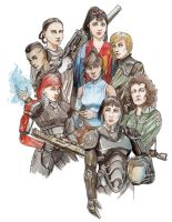 Shepard new team by Sapiains