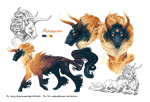 Aldebaran: Quick Ref by pallanoph