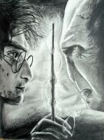 The Deathly Hallows (Old Art 2010) by RavenDANIELS