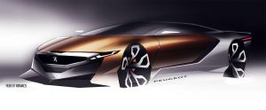 Peugeot Concept by roobi