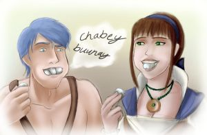 Chubby Bunnies by wildfire707