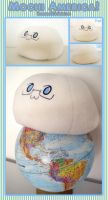 +Mochi America+ Plush Pillow by TheonenamedA