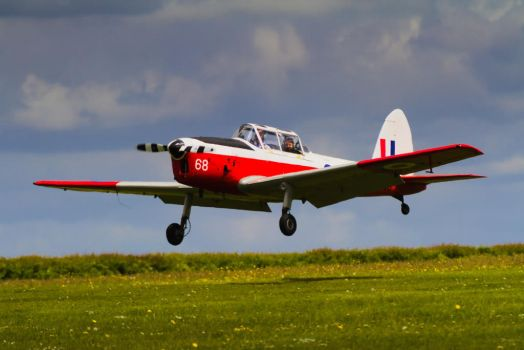 De Havilland DHC 1 Chipmunk by SomersetCider