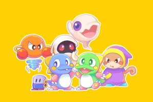 puzzle bobble pocket Character by dpsldpsl-cr