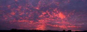 Burning Sky Panorama by PolaristheCepheid