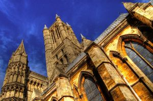 Lincoln Cathedral Heights HDR by nat1874