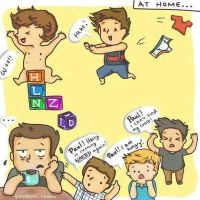 the boys and paul by onedirectionislife