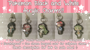 Pokemon BW Charms by Imouto-Thi