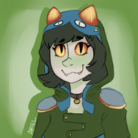 Nepeta Acquaristuck icon for Emily by GhostlyStatic