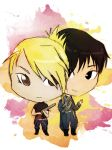 I've Got Your Back [Roy and Riza Chibi Request] by Misakiri