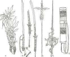 Angel Weapons 1 by AngelicHeresy