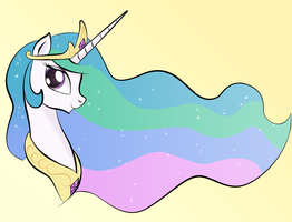 Celestia Portrait by unknownbronynumber42