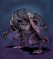 Werewolf by malara-art