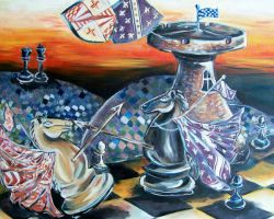 Chess Game by hannahbull