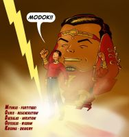 TLIID March MODOK Madness 2015 - Captain Marvel by Nick-Perks