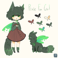 Pixie Fox Adopt Auction (closed) by LunarAdopts