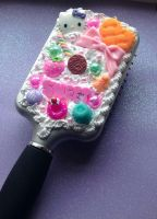 HELLO KITTY CANDY WHIPPED CREAM HAIR BRUSH by KAWAIIBOUTIQUE