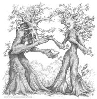 Ents sketch by Ironshod