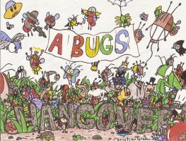 A Bugs Hangover Group Shot by BLARGEN69