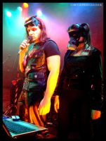 Welder And The Gasmask Lady by gdpgigs