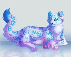 -Commission- Bright Blue by Makirou